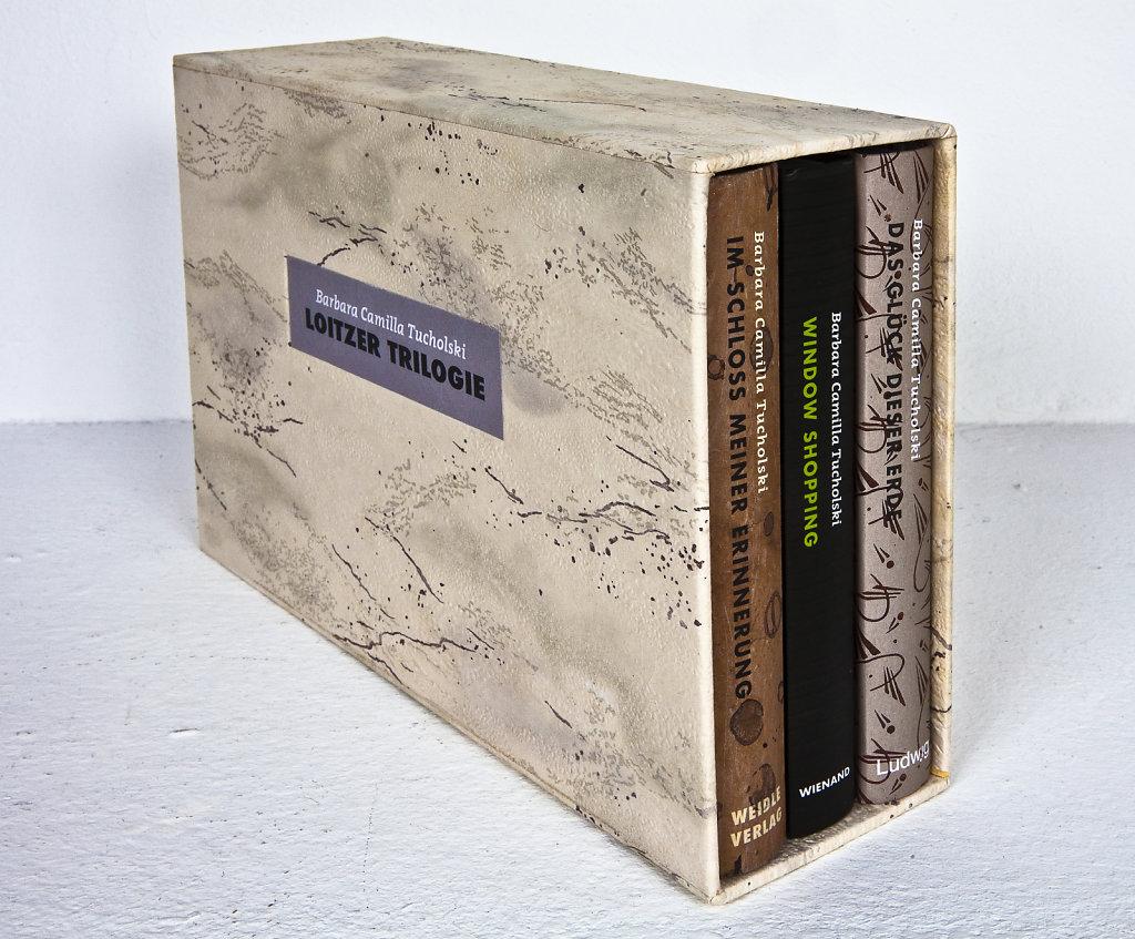 Sonderedition: Barbara Camilla Tucholski LOITZER TRILOGIE, alle drei Bücher in einem Schuber, 2018